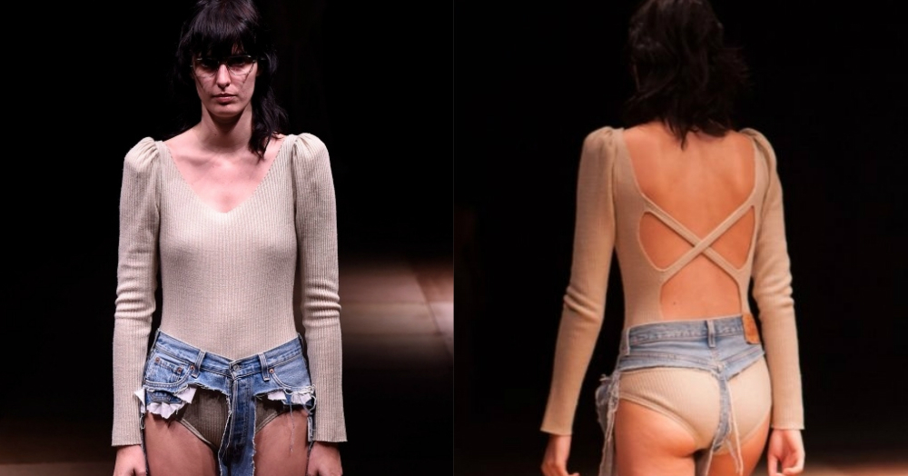 Yes, Invisible Denims Exist & You Can Call Them 'Thong Jeans'!