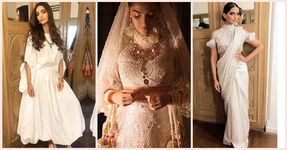 No One Nails White Outfits Like Sonam Kapoor & Here's Proof!