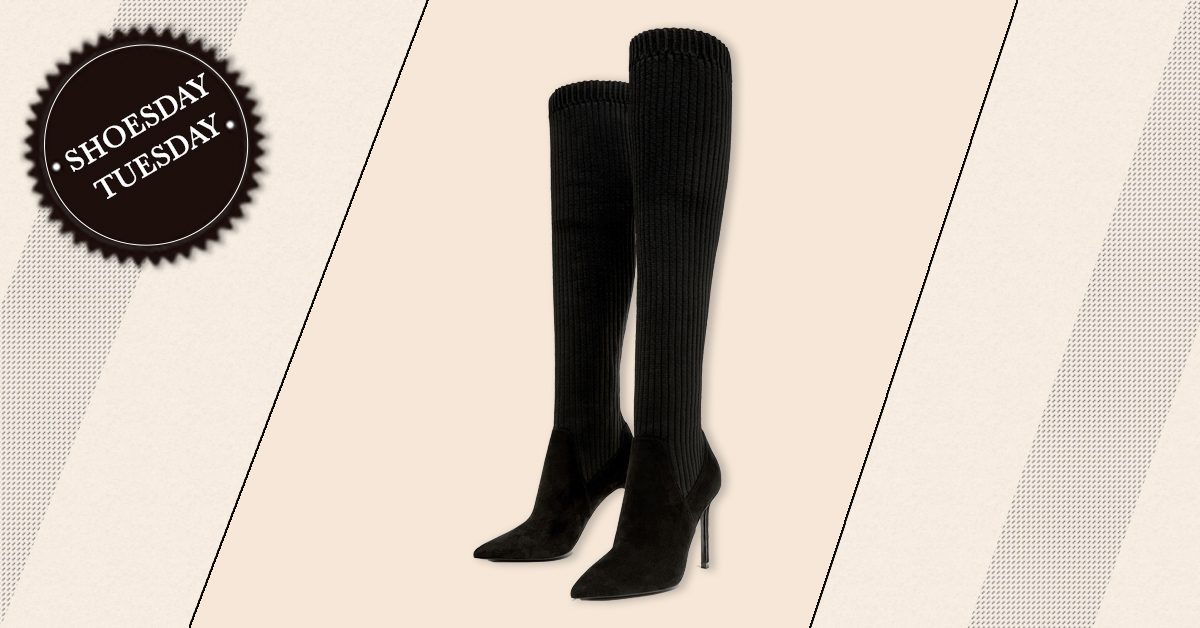 #ShoesdayTuesday: The Thigh-high Boots We're Oh-so-Lovin'