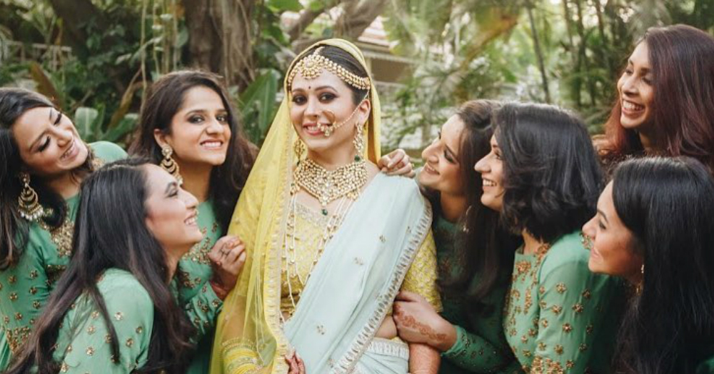 This Bride Chose To Wear A *Yellow* Lehenga At Her Wedding & Owned It Like A Boss!