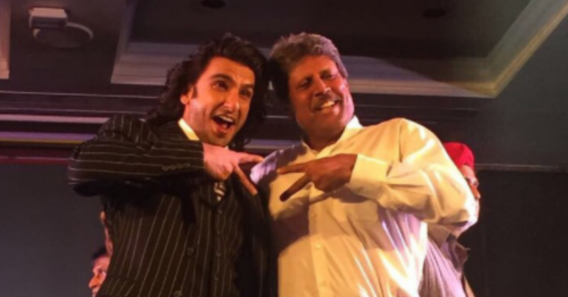 Ranveer Singh Is All Set To Play Kapil Dev In A New Kabir Khan Movie