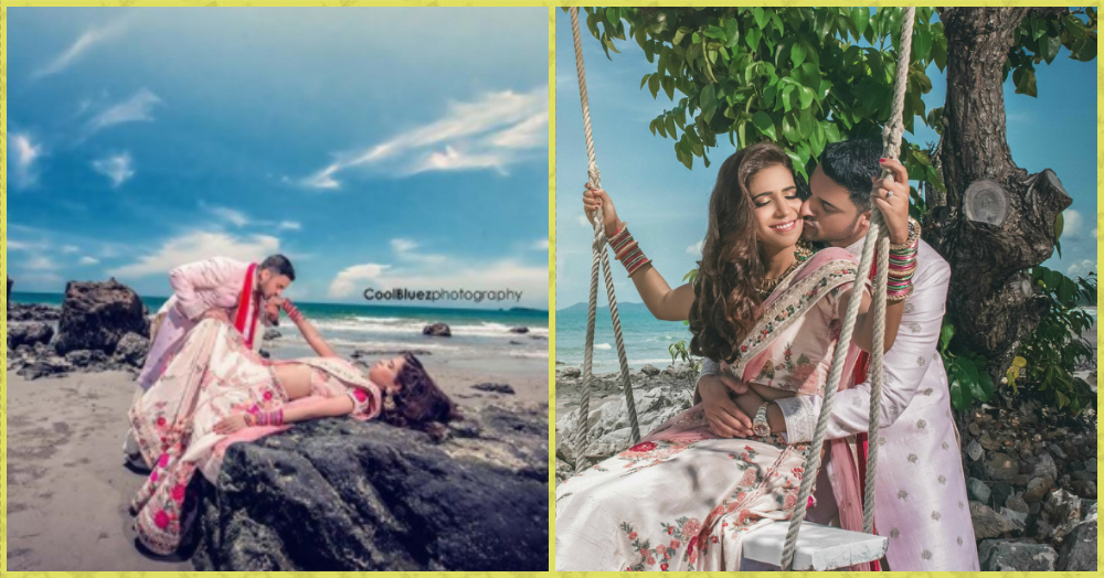 A Couple Photoshoot By The Beach... These Photos Are Absolutely *Stunning*