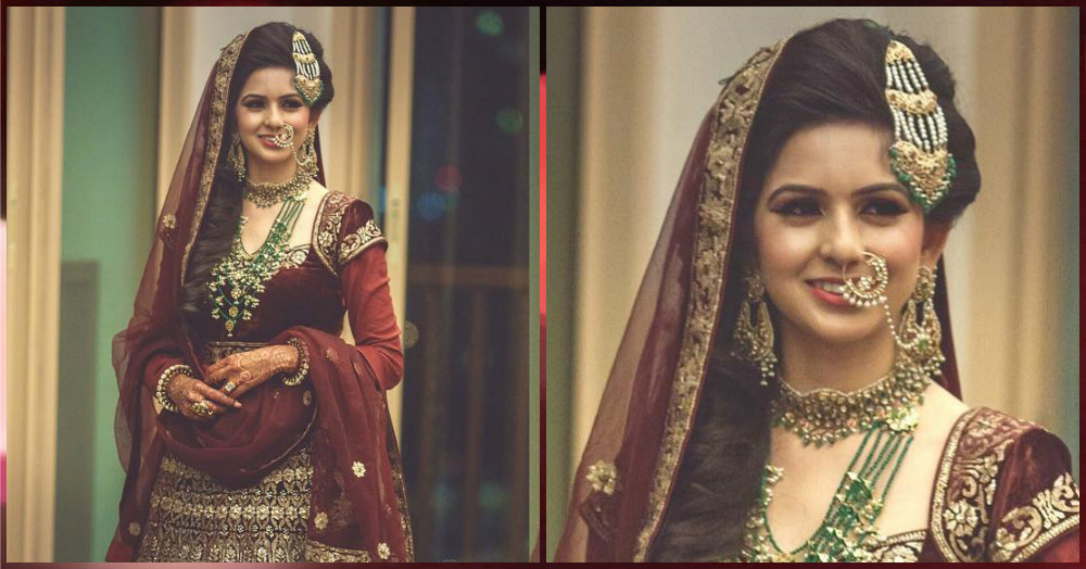 This Bride Dressed As 'Mastani' For Her Sangeet But Wait Till You See Her Bridal Look!