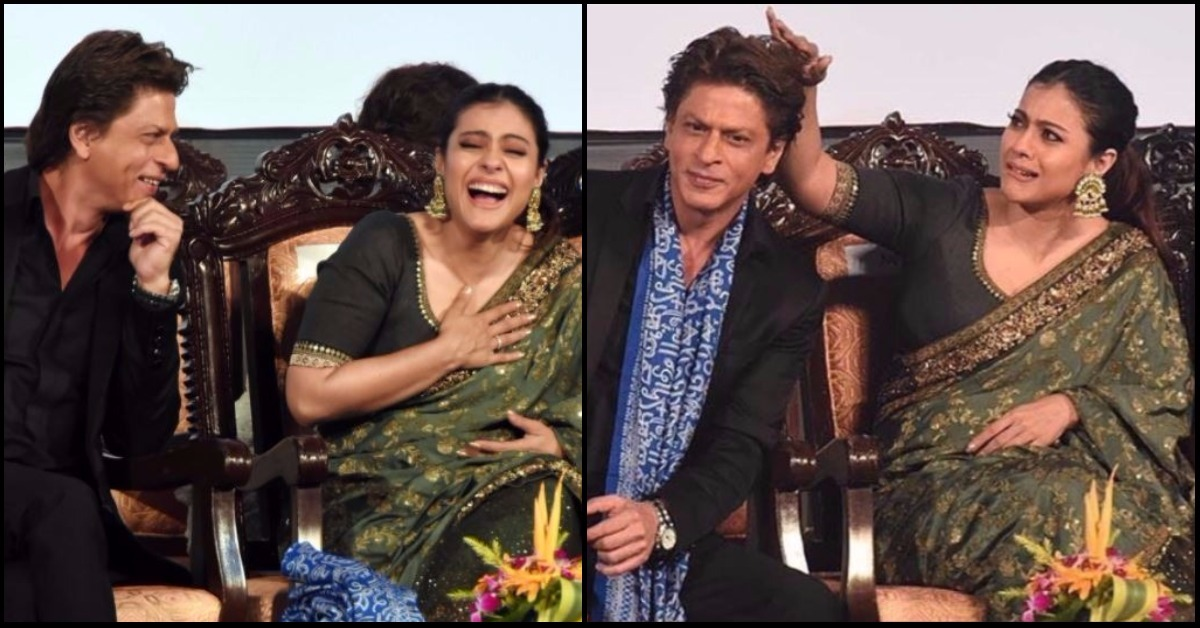 SRK & Kajol Gave Us Major Rahul-Anjali Vibes At The Kolkata Film Festival