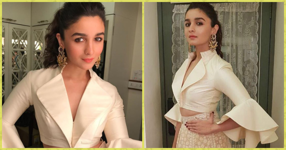 Alia Bhatt's Look Is SO Pretty, You'd Want To Steal It For Your Bestie's Shaadi!