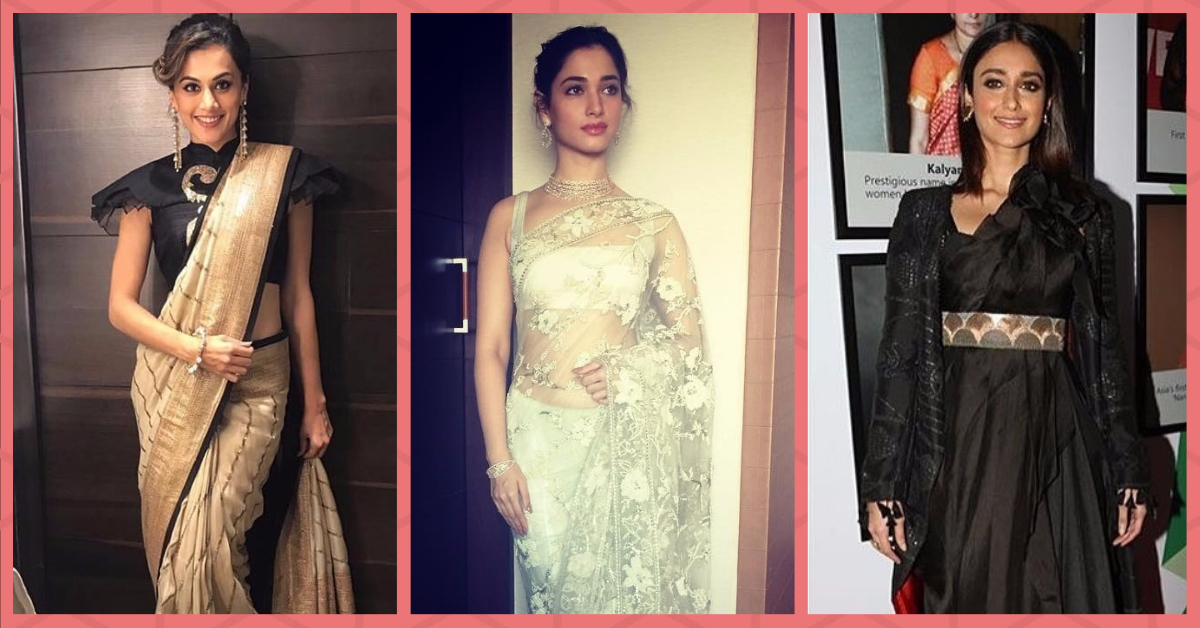7 South Indian Stars Whose Saree Style Is Worth Stealing!