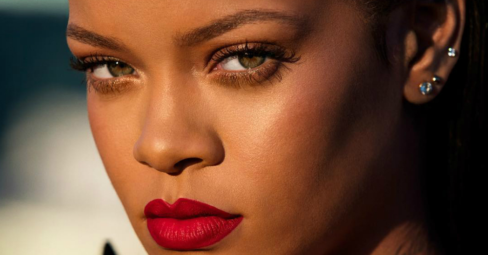 RiRi Gets Cheeky As She Claims Fenty Beauty's Lip Stunna Is Kiss Proof!