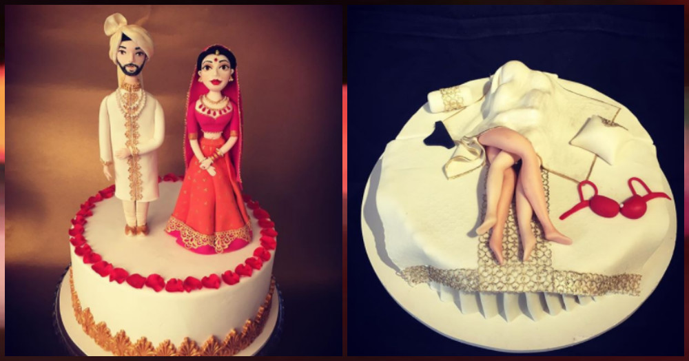 From Sabyasachi Brides To Baraats, This Studio's Unique Cakes Are Worth Checking Out!