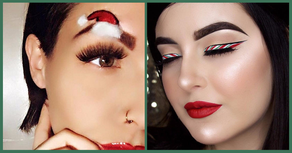 We Got These Eye Make-Up Looks To Get You In The Holiday Spirit!