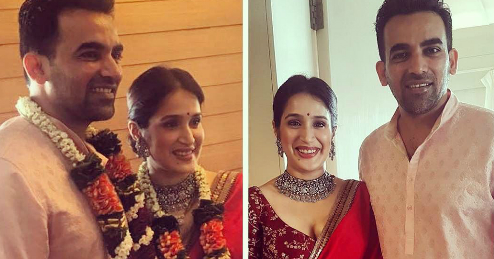 Zaheer Khan And Sagarika Ghatge Just Got Married & Here Are All The Deets!