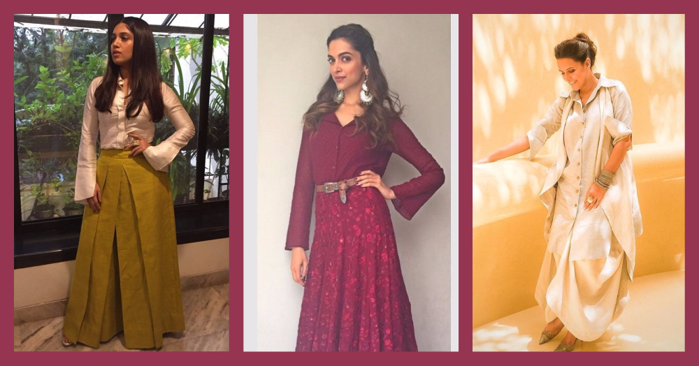 How To Style Your Shirt With Indian Outfits!