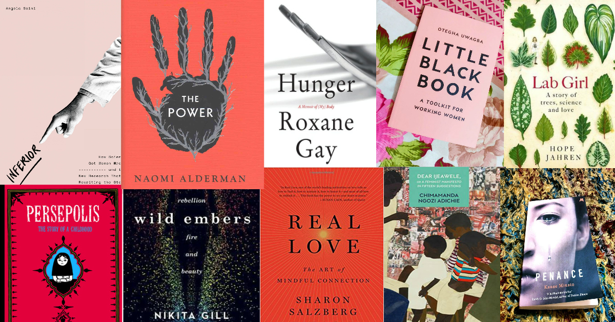 The 10 Books Every Woman Needs To Read Right Now