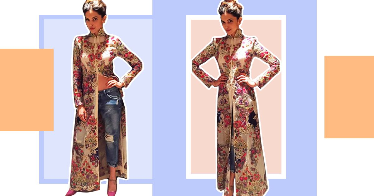 Glam Up The 'Kurta & Jeans' Look Like This