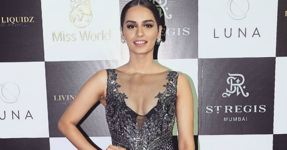 We Are Envious Of All The A-List Designers Dressing Up Manushi Chhillar!
