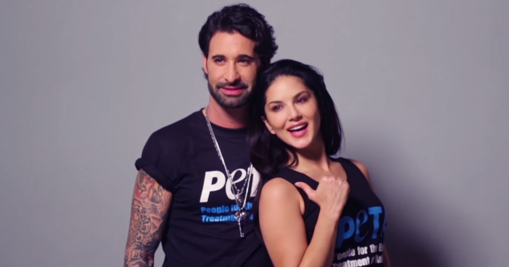 Sunny Leone & Her Husband Daniel Webber Pose Nude For A Good Cause