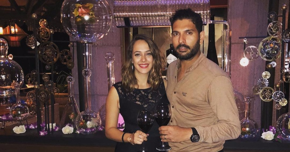 Hazel Keech Had The Most Adorable Message For Hubby Yuvraj On Their First Anniversary!