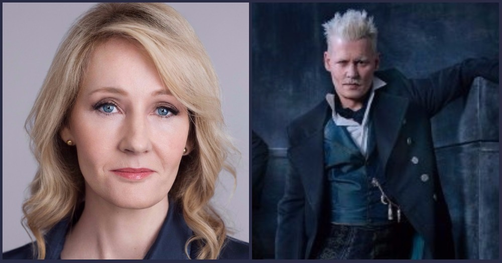 J.K. Rowling Blocks Fan For Questioning Johnny Depp's Fantastic Beasts Casting