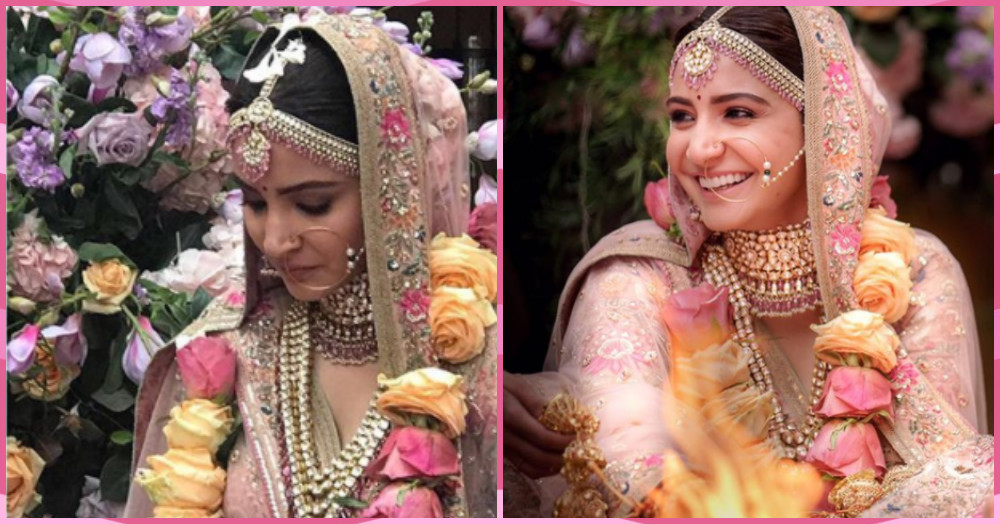 That *Beautiful* Moment When Anushka Sharma Made Her Bridal Entry... Here's The Video!