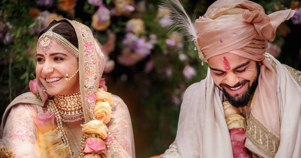 The First Photo From Anushka & Virat's Wedding Is Out & We Can't Keep Calm!