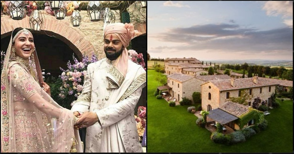 Virat And Anushka's Wedding Venue Is What Dreams Are Made Of