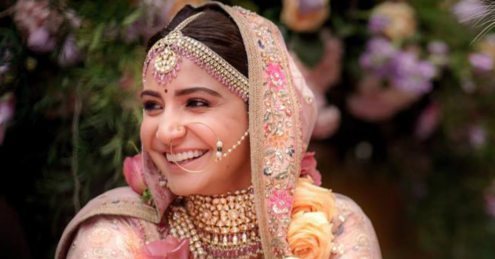 Here's How You Can Get ALL The Bridal Make-Up Looks From Anushka Sharma's Wedding!
