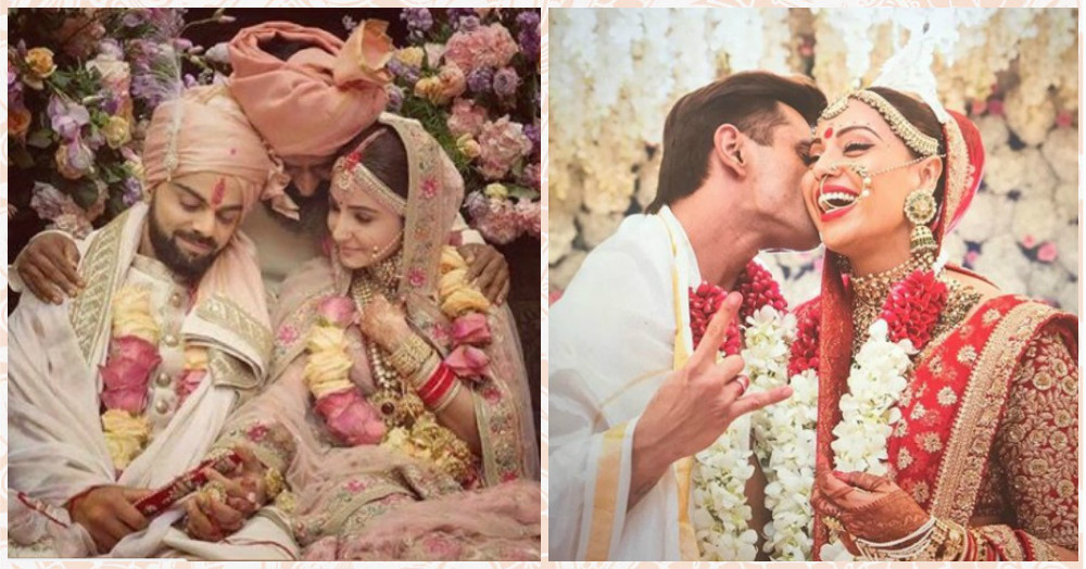 The Big Wedding Roundup: Check Out These B-Town Brides & Their Make-Up Looks!