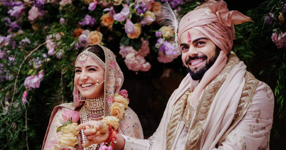 Virushka Auctioned Their Wedding Pictures For Charity, Could This Couple Get Any Better?