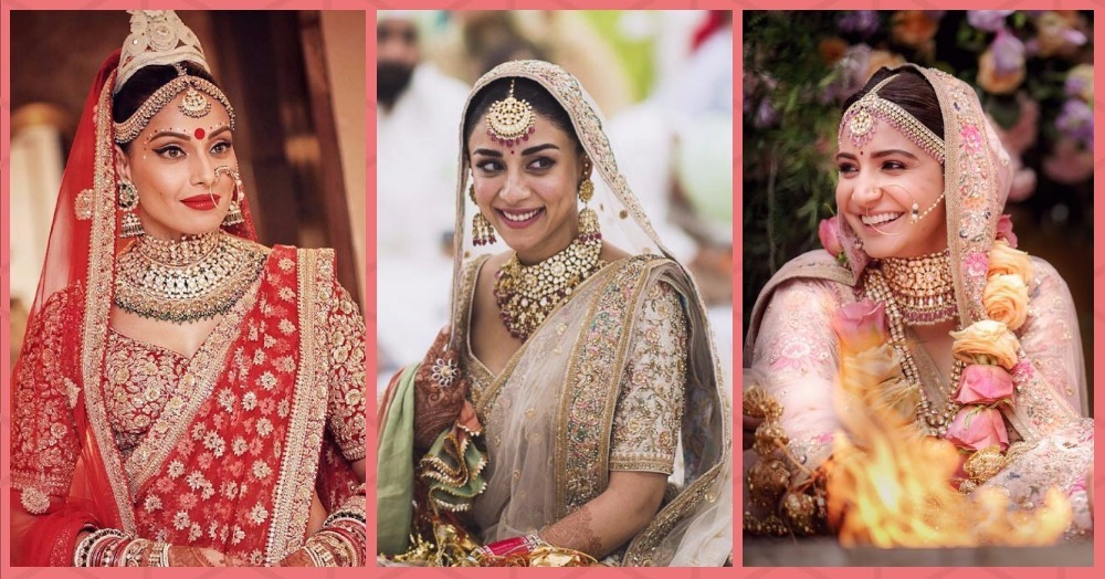 Bollywood Actresses Who Wore Sabyasachi On Their Wedding Day!