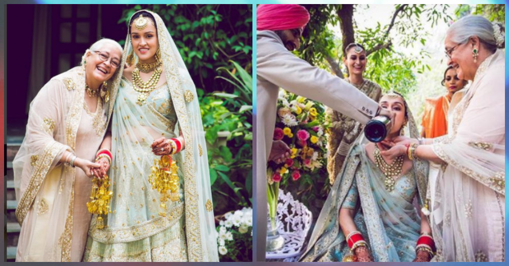 Nafisa Ali Has Been Sharing Pictures From Her Daughter's Wedding & They're *Adorable*