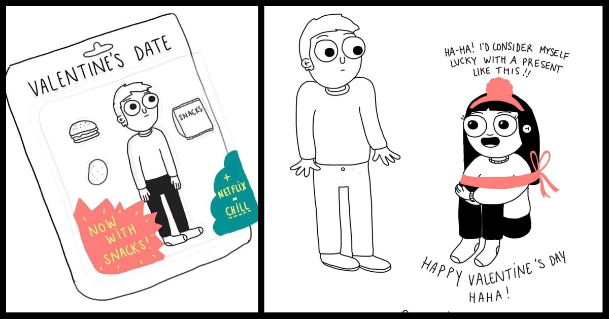 10 Illustrations That Perfectly Sum Up Every Girl In A Relationship!