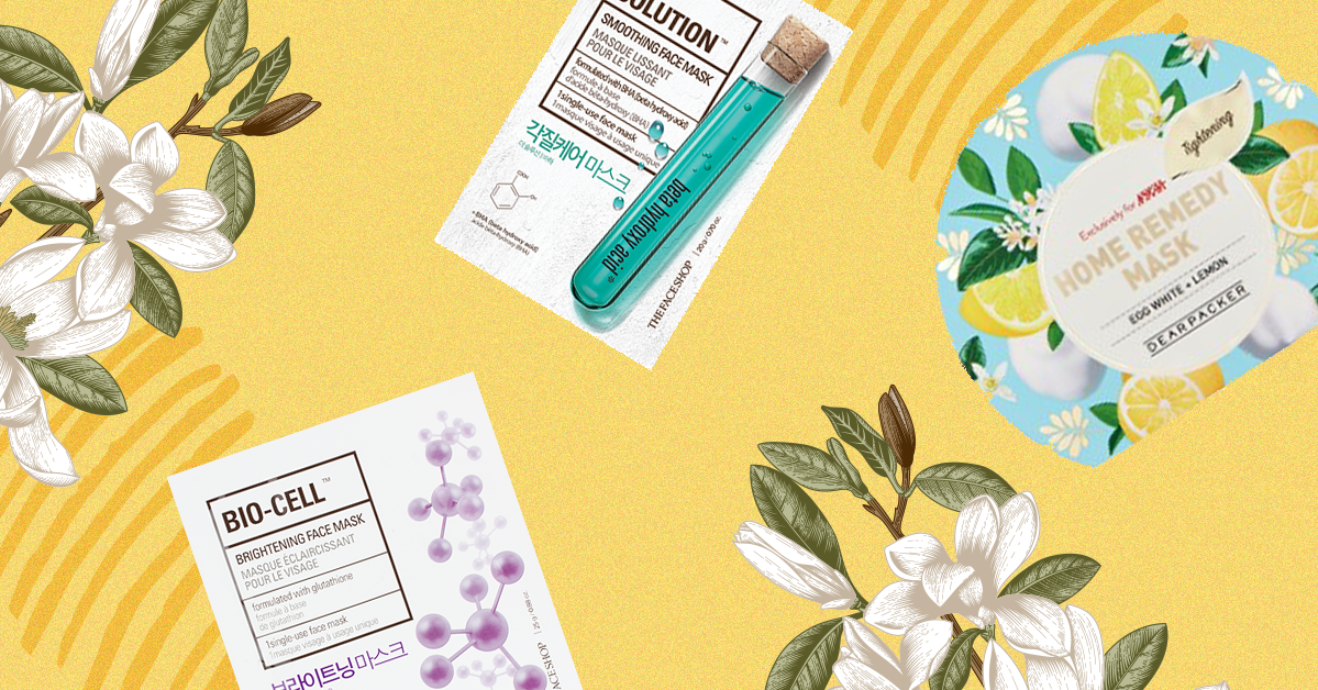 Everything You Need To Know About Sheet Masks, The Beauty Invention Your Skin's Been Craving
