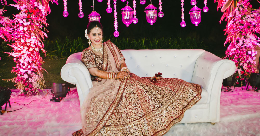 Picking A Fabric For Your Wedding Lehenga? Here's Everything You Need To Know!