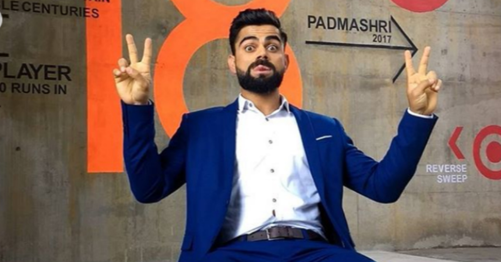 Virat Kohli Beats SRK To Become The Most Valuable Celebrity Brand In India!