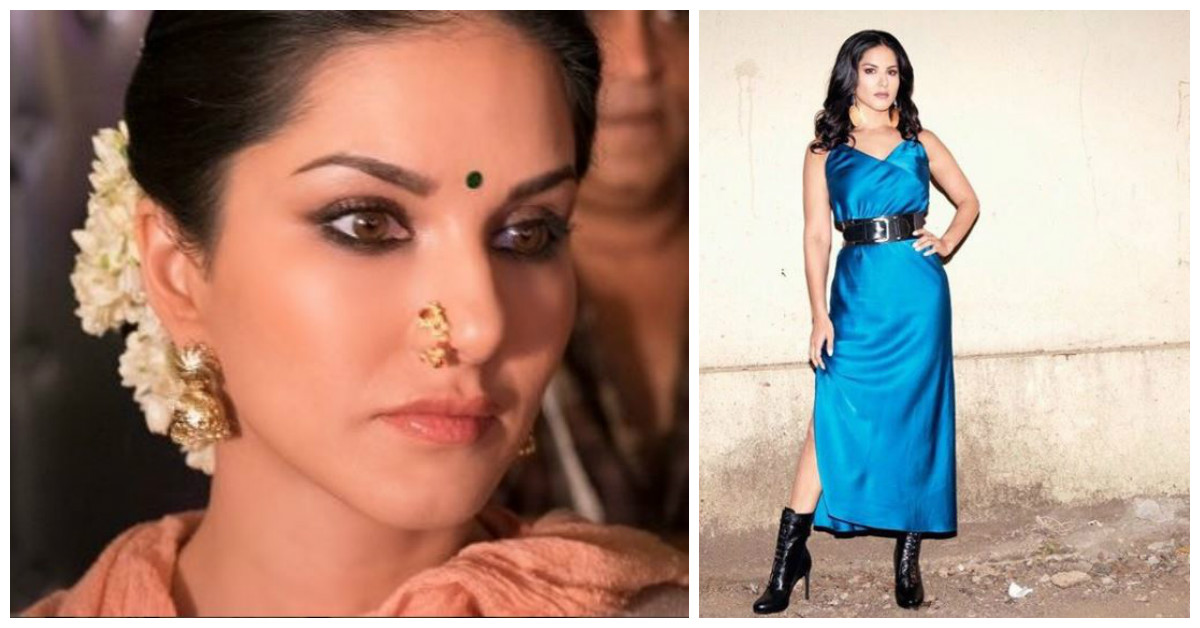 Did You See Sunny Leone's Pictures In A Saree? They're SO 'Unsanskaari'