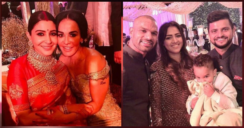 All The Pictures & Videos From Virat & Anushka's Grand Reception Last Night!
