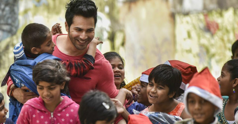 Varun Dhawan Is The Santa Claus These Kids Needed This Christmas!