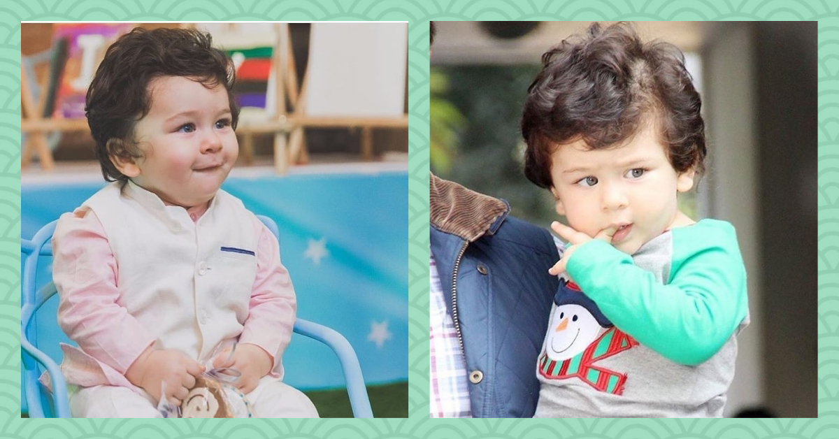 Baby Taimur Looks Absolutely Adorable As He Celebrates Xmas With Mommy & Daddy!