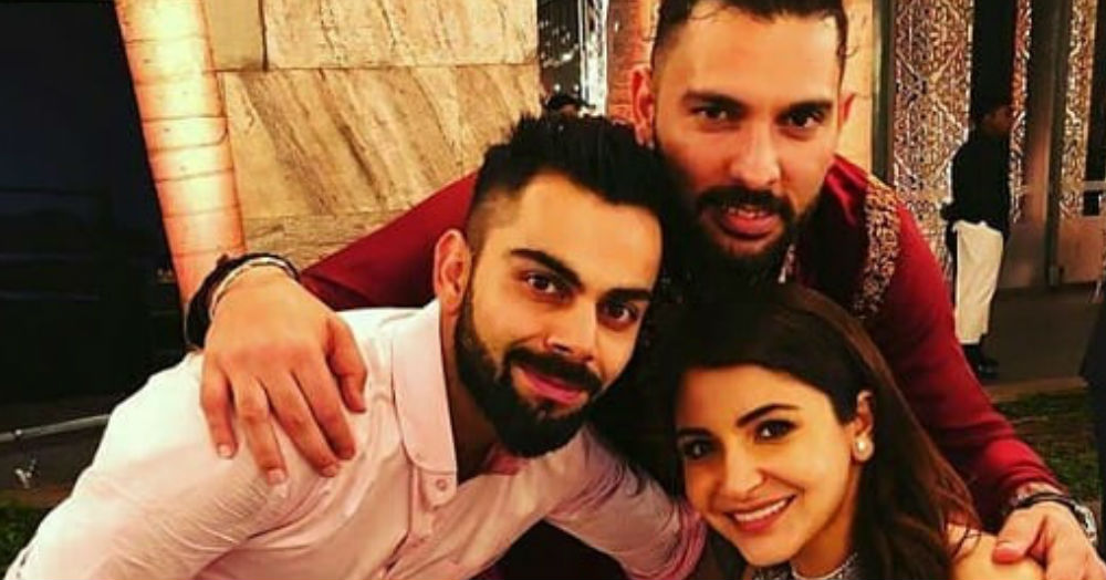 Bollywood And Indian Cricketers Bust Some Moves At The Virushka Wedding Reception!