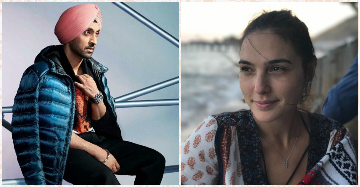 This Comment By Diljit Dosanjh On Gal Gadot's Picture Is Every Desi Lover Boy Ever!