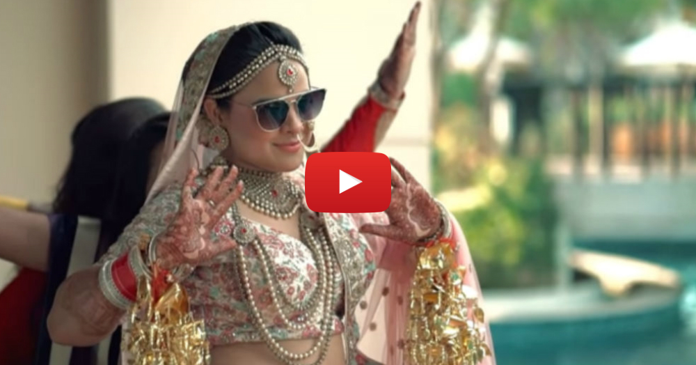 Remember The 'Cheap Thrills' Bride? Her Wedding Video Is Here & You Don't Wanna Miss It!