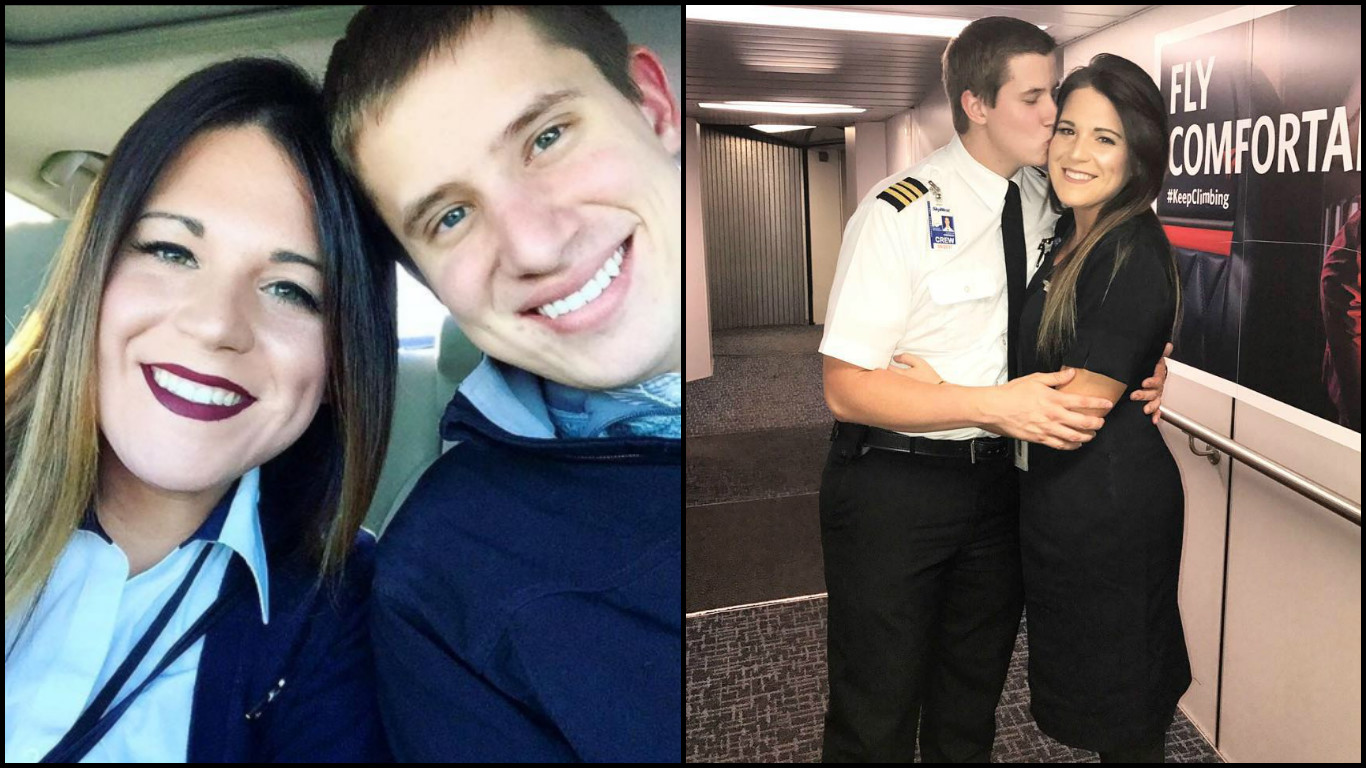 This Pilot Proposed To His Air Hostess Girlfriend In The Flight & It Was Super Sweet!