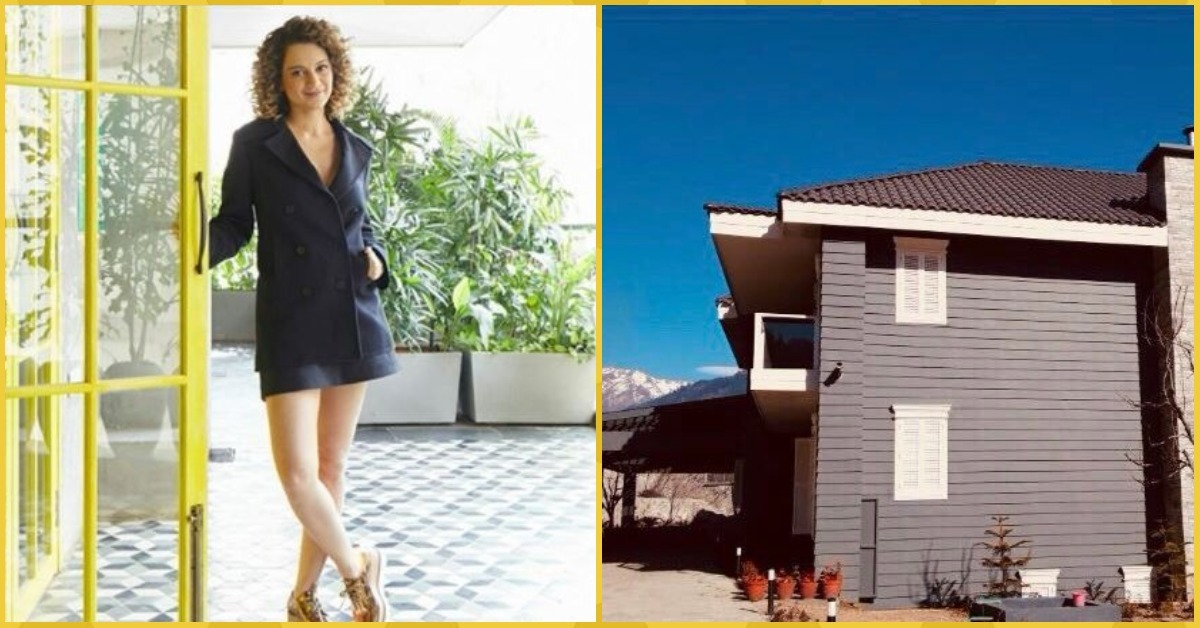Kangana Ranaut's Reported New Manali Mansion Pictures Are Going Viral For The Right Reasons