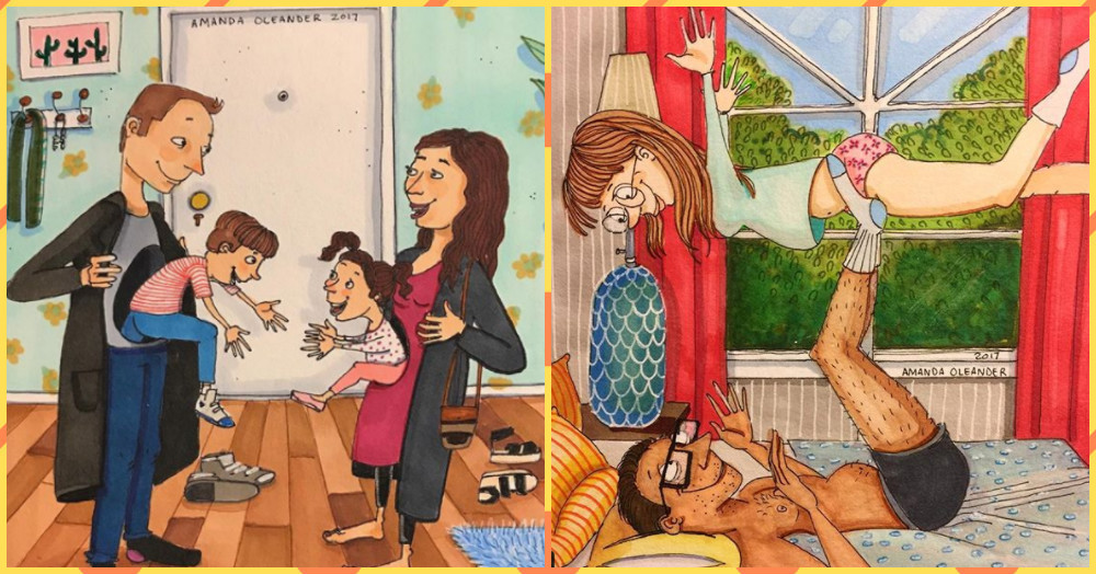 This Artist's Cute Illustrations Will Tell You What Happy Marriages Are All About!