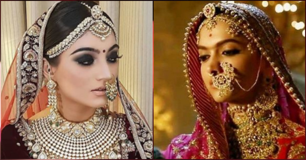 Forget Padmavati, This Bride's *Stunning* Wedding Jewellery Will Leave You Spellbound!