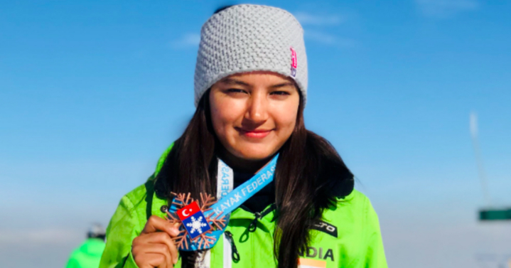 Thanks To 21-Year-Old Aanchal Thakur, India Gets Its First International Medal In Skiing