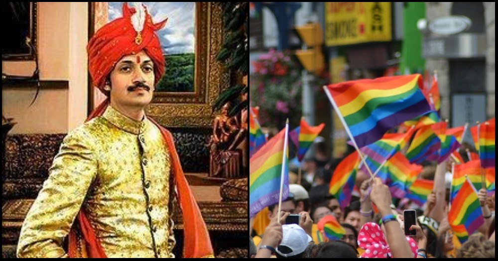India's First Openly Gay Prince Welcomes All LGBTQ Members Into His Palace!