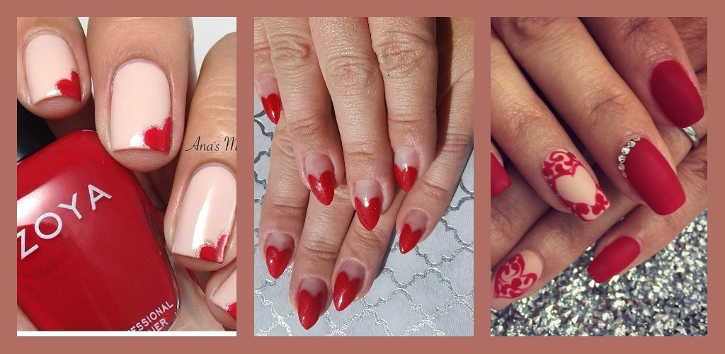 Love On Your Tips? Here's Some V-Day Nail Art Inspo To Get You In The Mood