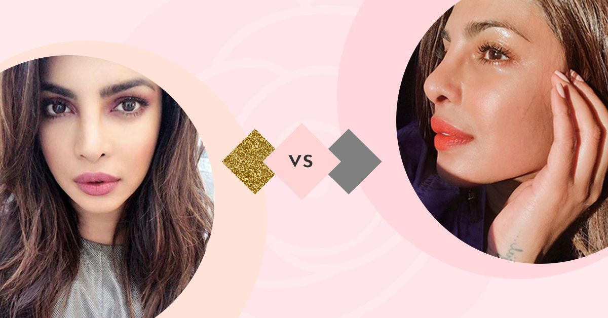 Take Notes: PeeCee Gives Us A Lesson In A Neutral vs A Natural Look!