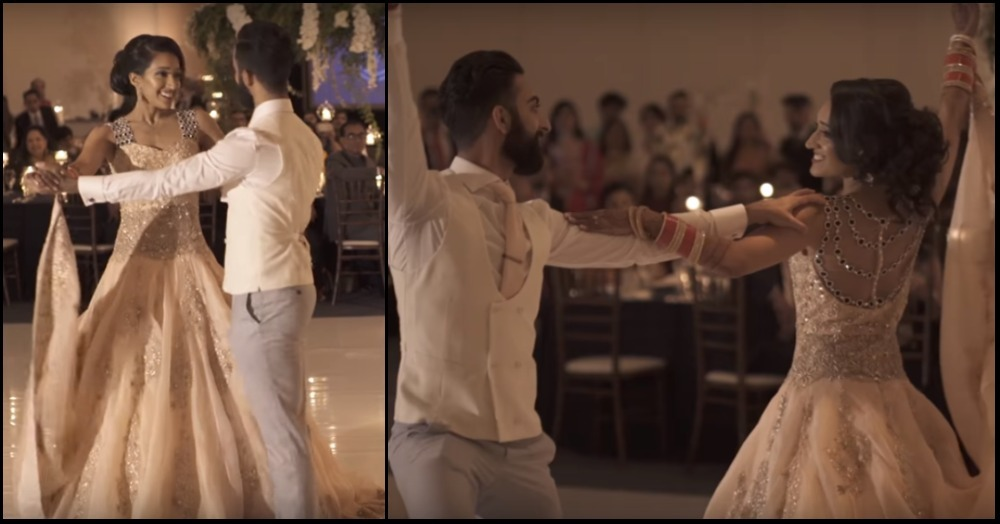 Bhangra + Ballroom - This Couple's 'First Dance' Is Nothing Like We've EVER Seen Before!