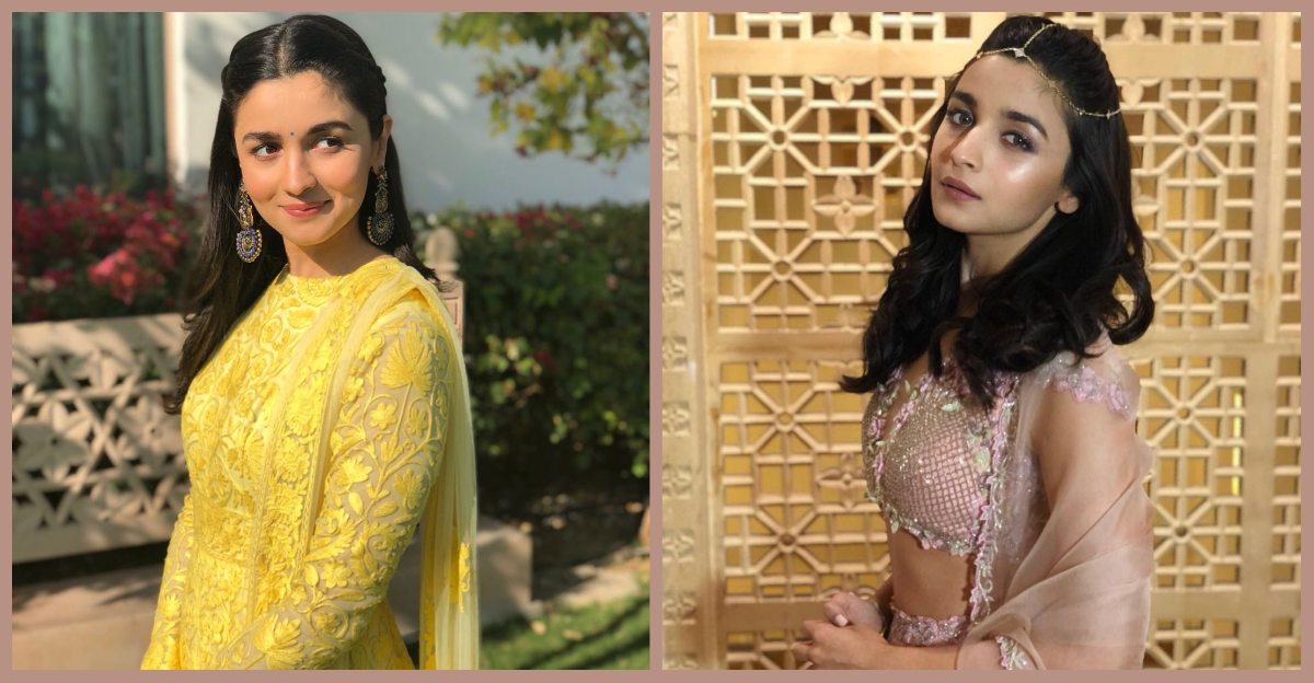 Cute Outfits & Candid Moments: Alia Bhatt At Her Bestie's Wedding!